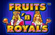 Игровой автомат на деньги Fruits And Royals