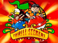 Аппарат Thrill Seekers от Playtech на сайте нового казино